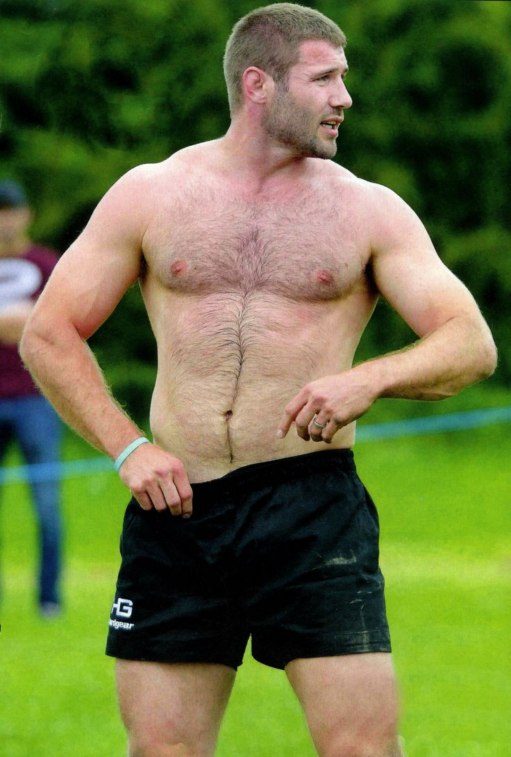OMG, hes naked: Rugby player Christophe Dominici