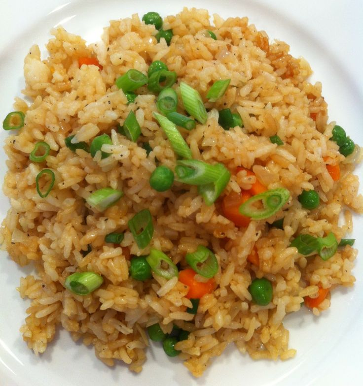 Hibachi Style Fried Rice Makes 2 servings (Recipe can easily be doubled or tripled) Printer Friendly Version  2 cups cooked, cold rice 1 T. ...