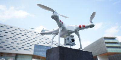 Phantom Quadcopter for GoPro