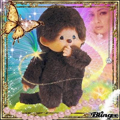 Monchichi! Monchichi! Oh so soft and cuddly!