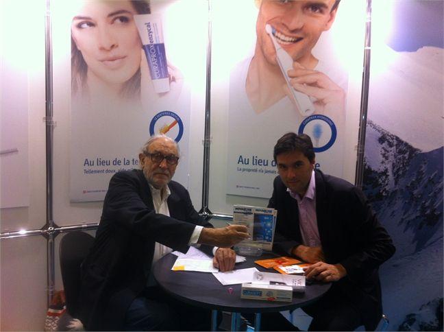 Meeting Ueli Breitschmid - CEO CURADEN AG