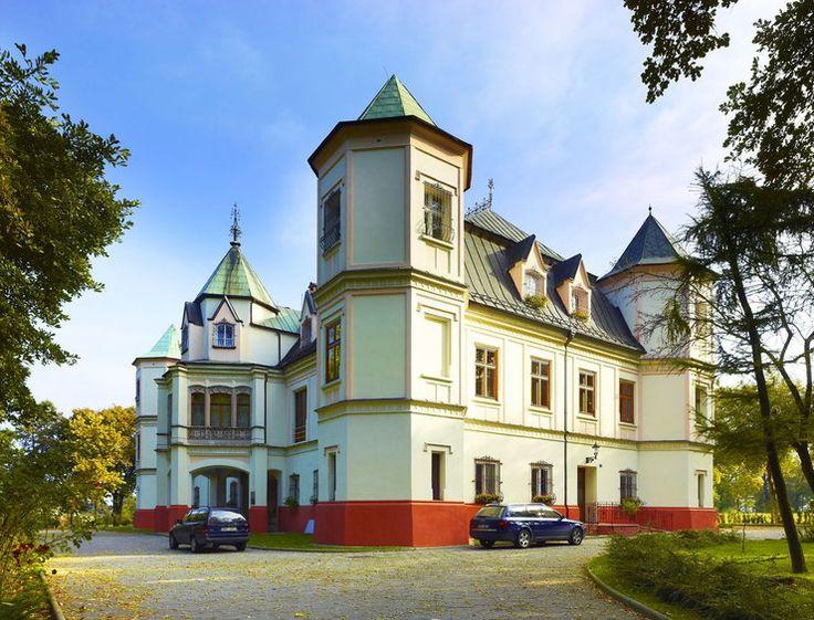Pałac w Krzyżanowicach, powiat raciborski, gmina Krzyżanowice