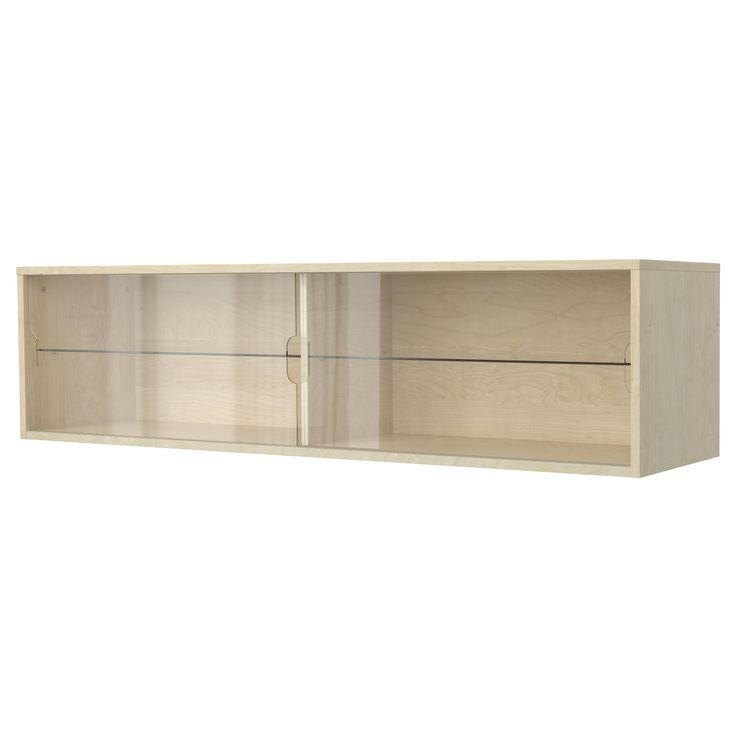 Galant Wall Cabinet With Sliding Doors Birch Veneer