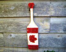 Maple Leaf Art,Canoe Paddle,Wood Paddle Art,Canadian Art,Cabin Decor,Canadian…