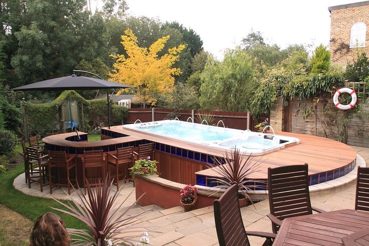 142 Best Images About Beautiful Above Ground Pools On