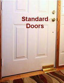 NIGHTLOCK Door Brace and NIGHTLOCK PATIO for Sliding Glass Patio, Stop Home Invasion, break ins and kick ins. Door Security Locks