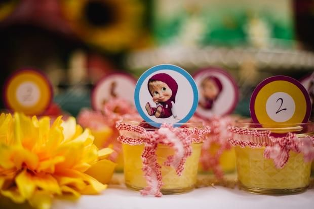 Hostess with the Mostess® Masha & The Bear Cupcakes (NOT MINE)