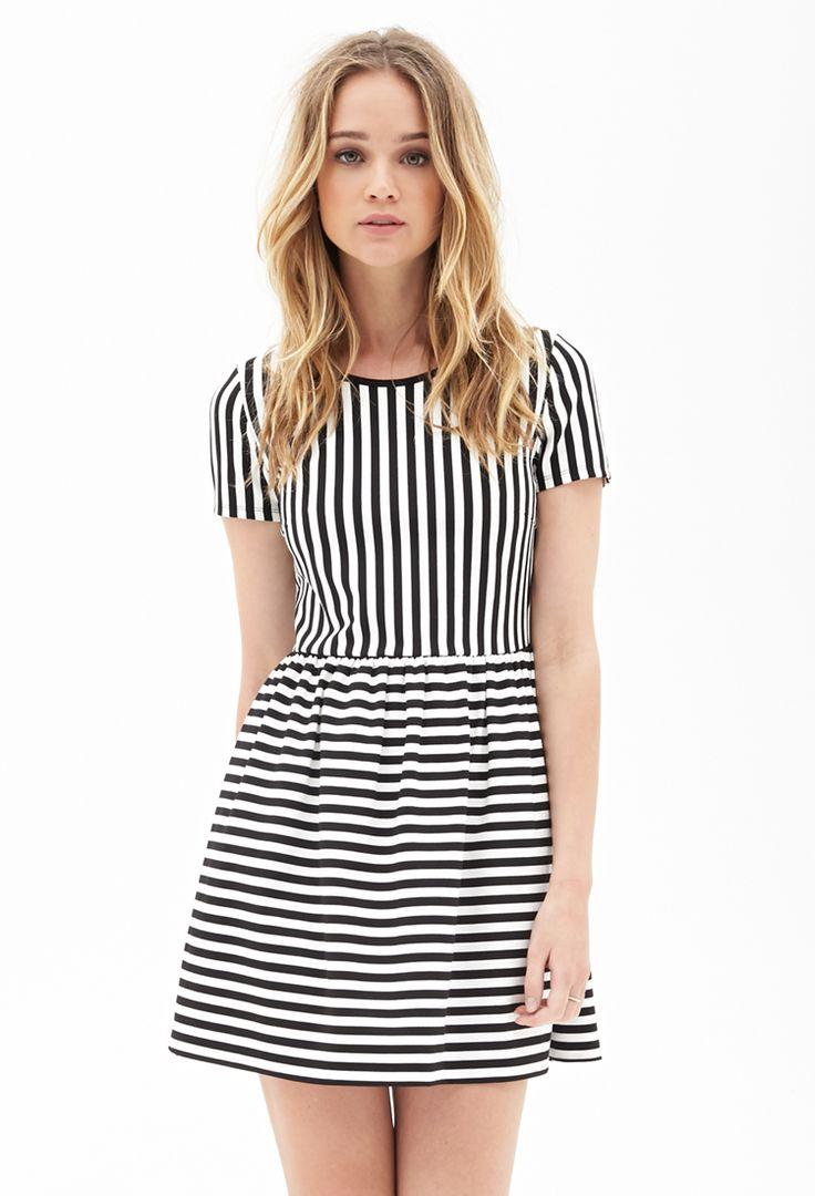 Darling Striped Dress | FOREVER21 - 2000073170