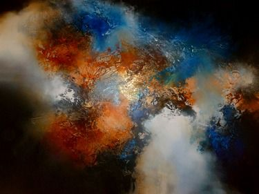 "Saatchi Online Artist Simon Kenny; Painting, ""Conceived in Dreams"" #art"