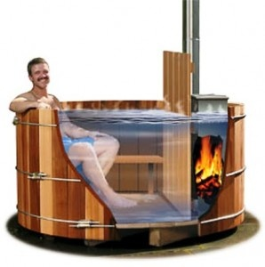 """quote: """"hot tub"""". Not sure if this is for real - doesn't seem logical - but maybe - quess it saves on electric used to heat tub?"""