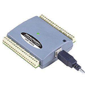 $106.80 USD Tarjeta USB de 24 líneas E/S digitales. La tarjeta viene acompañada de ejemplos básicos en C, C#, VB, LabVIEW y Delphi que le ayudarán a estar trabajando con el equipo de manera muy rápida.  Características: E/S digitales de 24 bits Basado en el estándar industrial 82C55 Un contador de eventos externo de 32 bits Terminales incorporados de tornillo Usb 1.1 y dispositivo compatible 2.0 soportado en Microsoft Windows 98SE/ME/2000/XP Versión OEM disponible sin carcasa  #MCC #DAQ