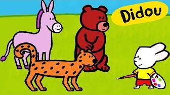 Didou, dessine-moi une Pie, un Coq et un Aigle | Dessin animé pour les enfants - YouTube