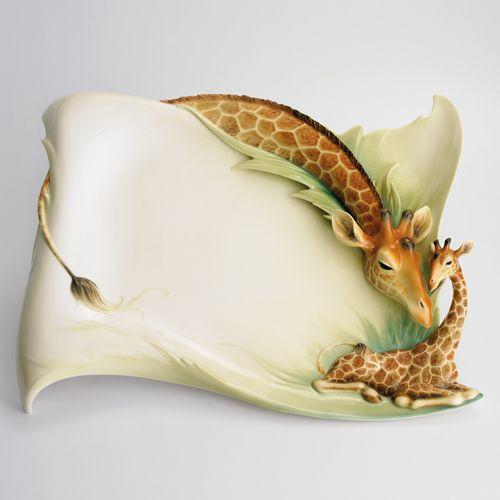 Franz Porcelain Jungle Beauties Giraffe Collection - Google Search