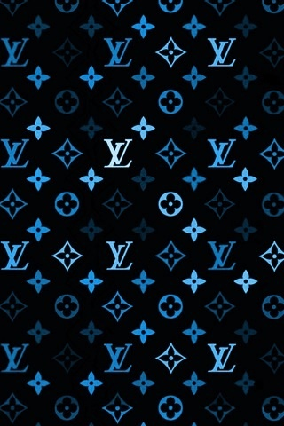 iPhone 5 Blue wallpaper iphone, Louis vuitton iphone