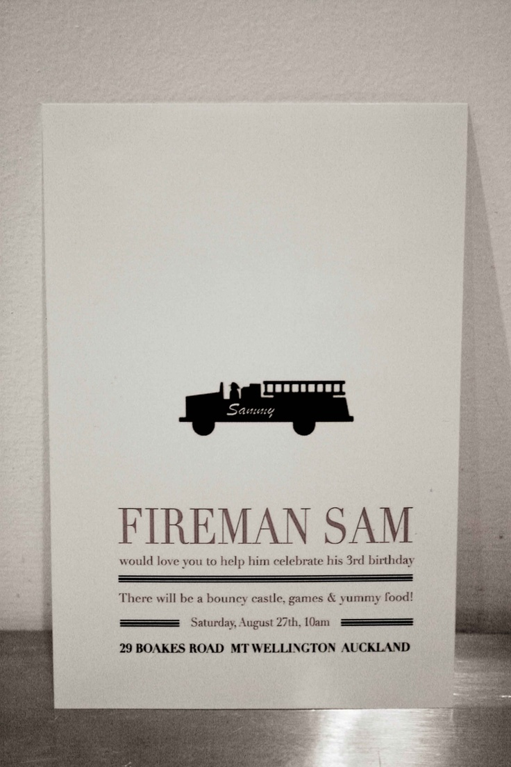 162 best party fire truck theme images on pinterest fireman