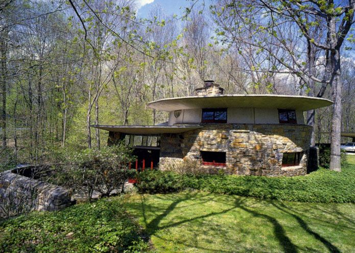 13 Best Images About Flw Friedman Toyhill House On