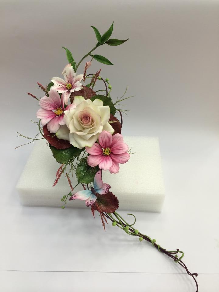1092 best CUKORVIRÁG images on Pinterest | Sugar flowers, Polymer ...