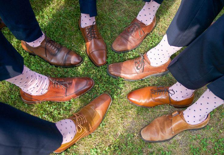 Dapper Classics Made in USA Wedding Socks