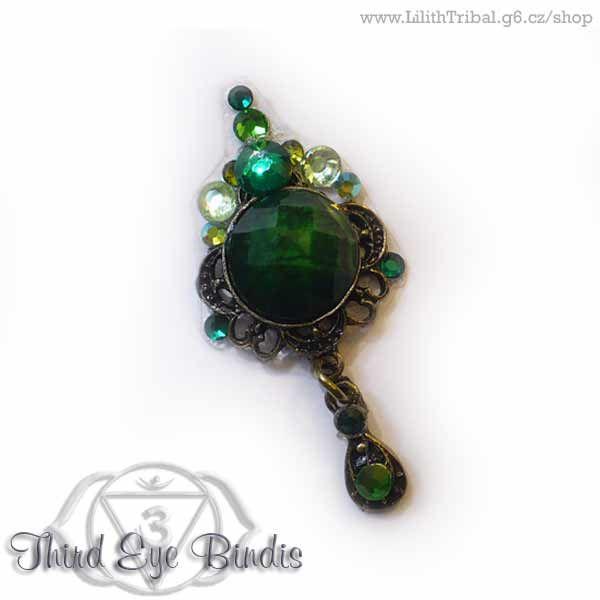 Jade Beauty –tribal bindi