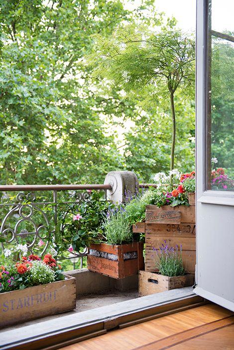 Ons balkon is klaar voor de zomer! / www.woonblog.be