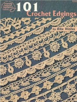 101 Crochet Edgings - pattern charts: 101 Crochet Edgings - pattern charts