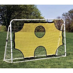 Soccer Training Equipment Goal Net Trainer Rebounder Score Beginner Practice | eBay