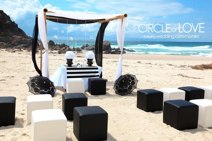 beach Wedding cabarita http://circleofloveweddings.com.au/