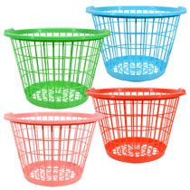 Large Colorful Plastic Laundry Baskets