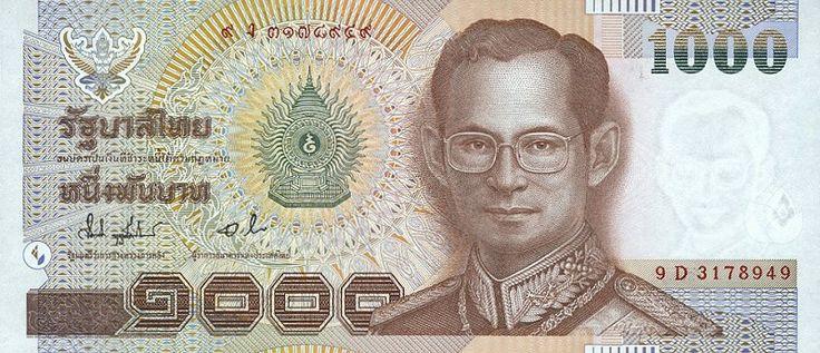 1000 Thai Baht (THB)