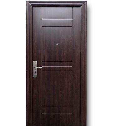 Las 25 mejores ideas sobre puertas de acero en pinterest for Modelo de puertas de madera exteriores
