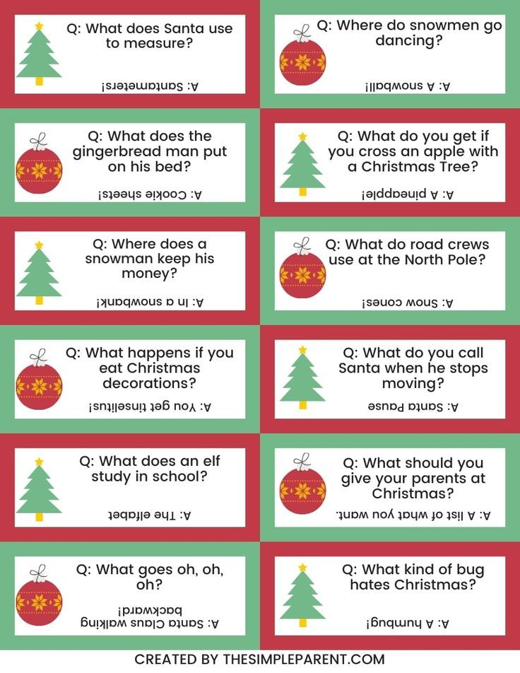 25 Christmas Jokes For Kids With Free Printable Christmas Jokes For Kids Christmas Jokes Christmas Riddles For Kids
