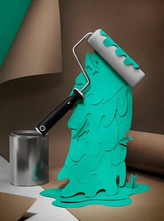 3D Paper Cut by FIDELI SUNDQVIST
