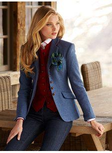 lara blue jacket