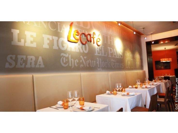 LeCafé: Estética moderna y cosmopolita de estilo neoyorkino en el centro de Madrid