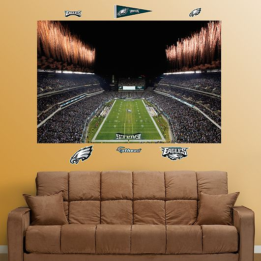 Eagles Man Cave Ideas : Inside lincoln financial field mural caves jack o