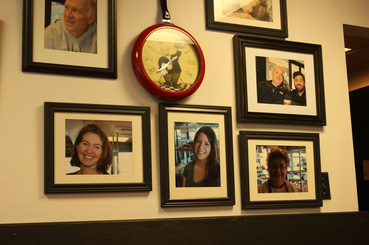 Part of the ''Wall of Fame'' at La Boulangerie du Village in Downtown Sudbury.