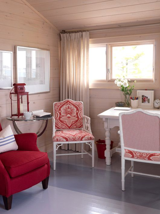 Lunchtime Fix Photos: Red and White Rooms by Sarah Richardson | Blog | HGTV Canada