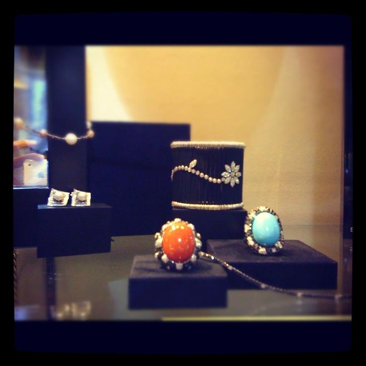 #anelli #rings #corallo #corals #turchese #turquoise #gioielli # finejewellery