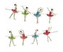 Girlander med ballettdansere 119,-