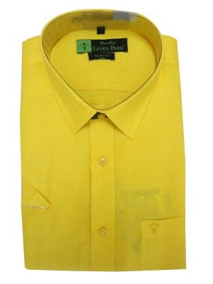 www.ramrajcotton.in/men/shirts/linen-park-shirts?product_id=400 - Linen Park Shirt Yellow online Shopping in India. Shop online from the latest collections of Linen Park Shirts. Linen Park Shirt Yellow available online to make your shopping easy.