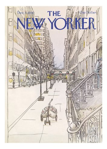 The New Yorker Cover - December 4, 1978 Regular Giclee Print by Arthur Getz at Art.com