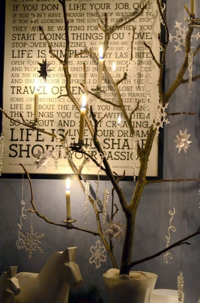 33 best tree ideas images on pinterest birch branches for Decoracion con ramas secas