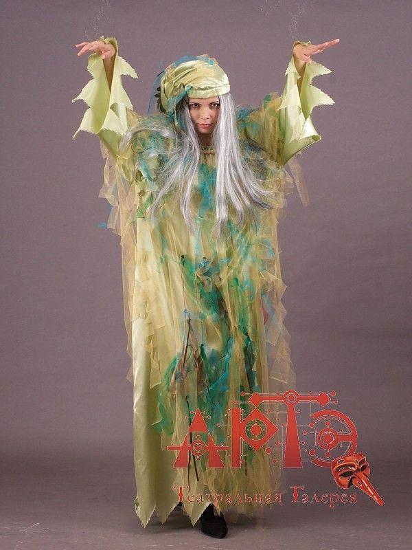 Новогодний костюм кикиморы своими руками фото