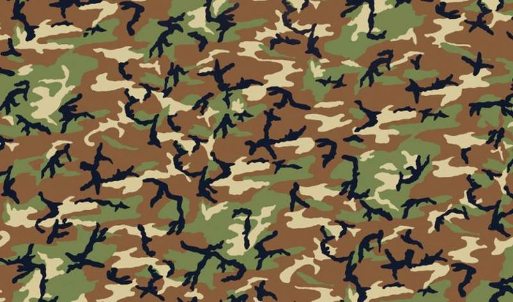 Brewster 346-0418 Camouflage Adhesive Film Camouflage Home Decor Wallpaper Wall Decals