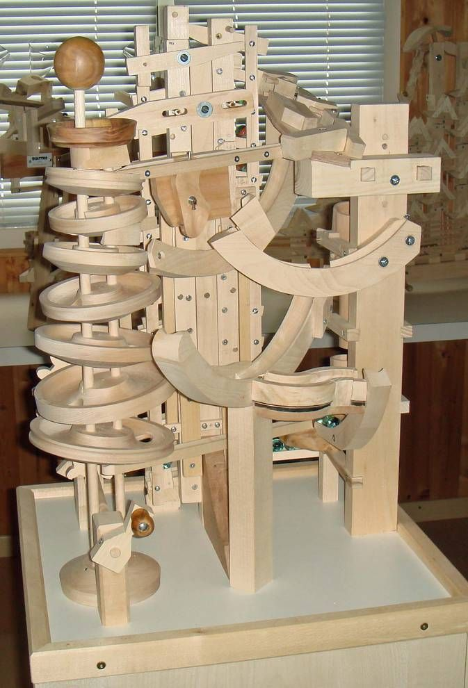 Marble machine and Marbles on Pinterest