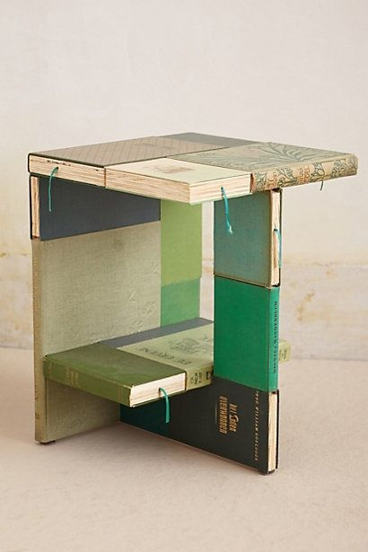 DIY Anthology Side Table | interesting