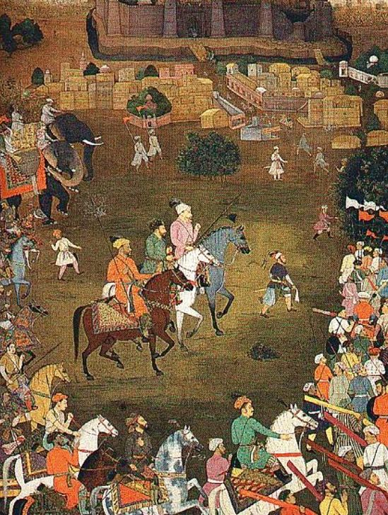 The Mughal Army under the commond of Aurangzeb recaptures Orchha in October 1635.