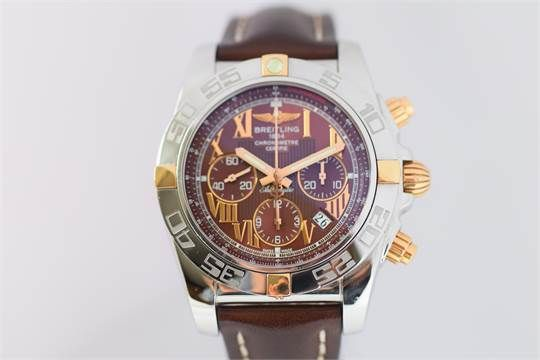 FOR A LIMITED TIME - Ends On 2017-10-12 12:16 (GMT) - BREITLING CHRONOMAT 44MM IB0110 WATCH S/S & 18ct GOLD BREITLING CHRONOMAT 44MM IB0110 WATCH S/S & 18ct GOLDRANGE CHRONOMATMODEL IB0110BOX YESPAPERS YESCONDITION PRE OWNEDWARRANTY 1YRCASE SIZE 44MMMOVEMENT AUTOMATICBRACELET MATERIAL & LENGTH CROCODILE LEATHER & FACTORYDIAL TYPE BRONZELIST PRICE DISCAGE 2010 Free P&P Keywords: Auction, breitling, Recommended, Watch