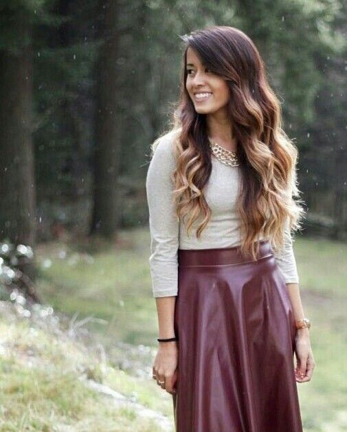 31 best leather skirt images on Pinterest