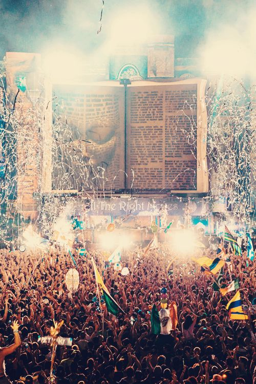 Tomorrowland Festival, Belgium *<3 Experiencing this stage at the first Tomorrowworld